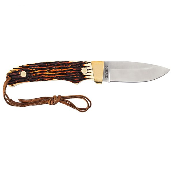 PH2N 1 Uncle Henry Pro Hunter Full Tang Fixed Blade Knife